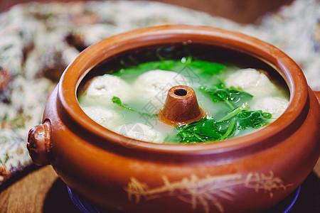 翡翠鱼丸汤图片