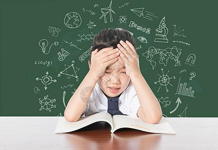 学习压力图片