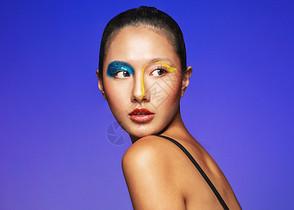 时尚色彩创意美妆图片
