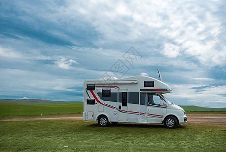 内蒙古草原房车图片