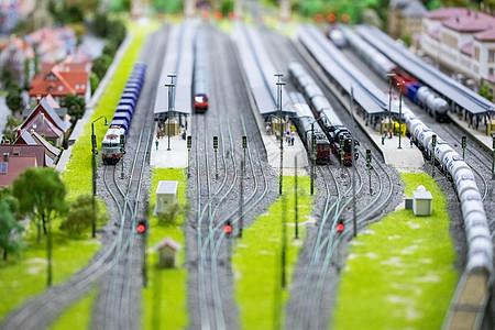 铁路火车图片
