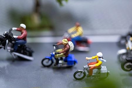 骑车小人模型图片