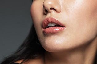 性感迷人的唇妆图片