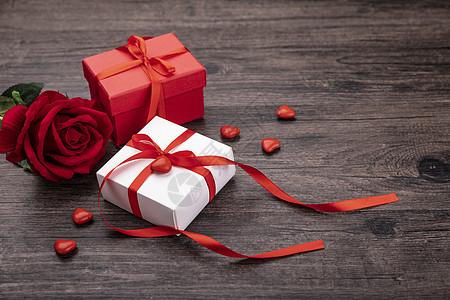 情人节礼物盒图片