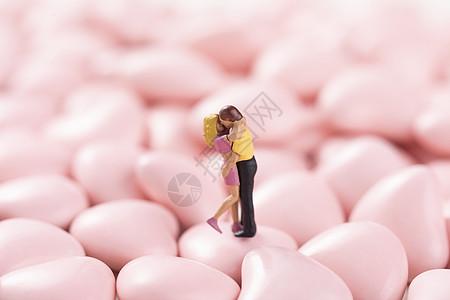 浪漫情人节创意微距图片