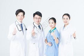 年轻的医生团队图片