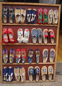 云南手工布鞋图片