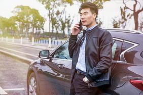 司机手机打电话图片
