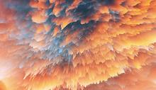 烟雾色彩图片