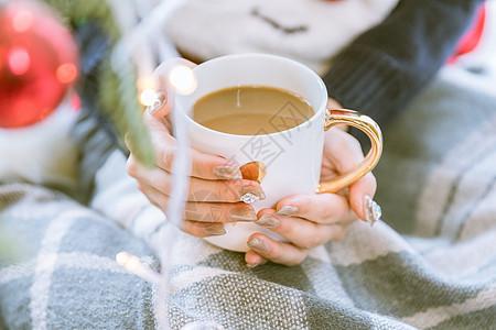冬季温暖热饮图片