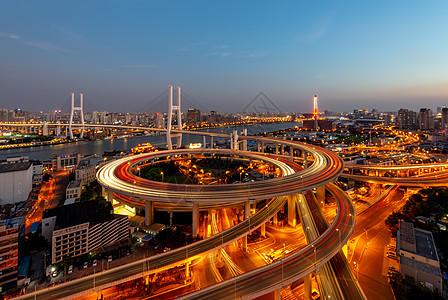 上海城市立交桥图片