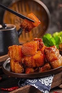 大块红烧肉图片
