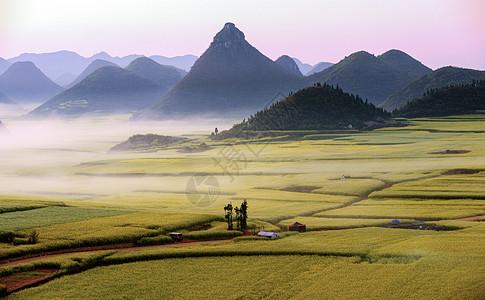 四川漓江山川河流唯美风光图片