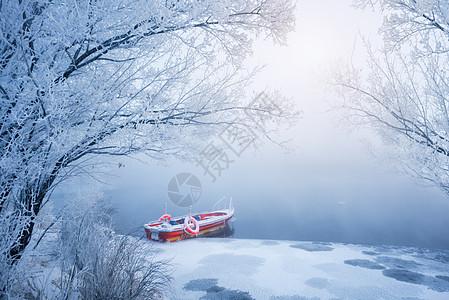 一叶小舟图片