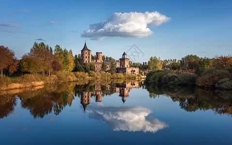 哈尔滨伏尔加庄园俄式建筑风景图片
