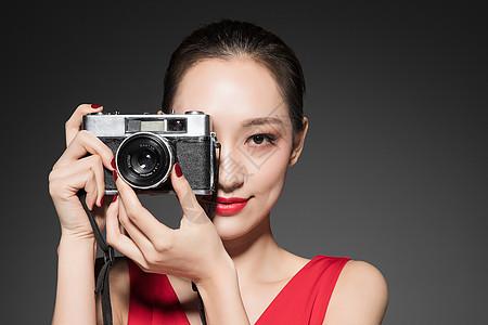 年轻女性摄影图片