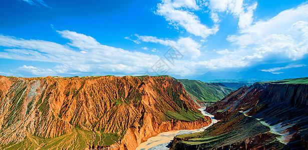 新疆奎屯大峡谷风光图片