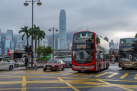 香港维多利亚港湾公交车站图片
