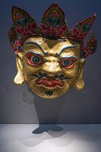 云南少数民族面具图片