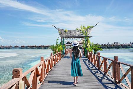 马来西亚沙巴水屋度假酒店图片