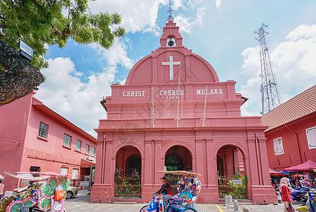 世界文化遗产马六甲海峡历史建筑图片