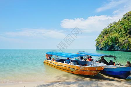 马来西亚兰卡威游船图片