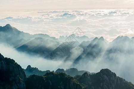 黄山云海日出图片