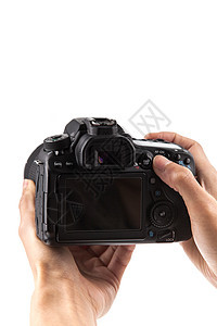手持相机拍摄图片