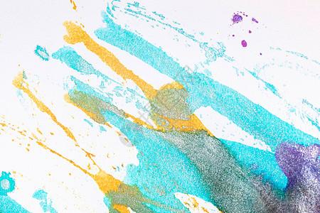 水粉色彩背景图片