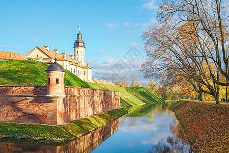 世界遗产涅斯韦日城堡图片
