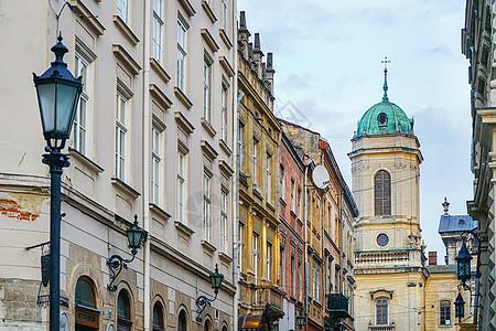 世界文化遗产利沃夫老城图片