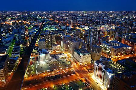 札幌城市天际线图片