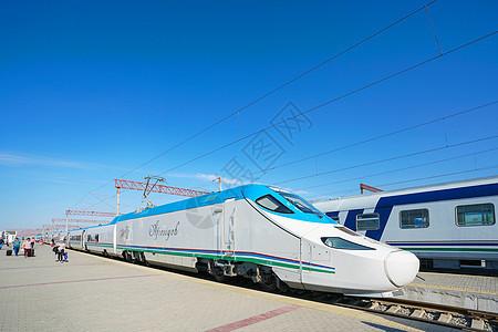 乌兹别克斯坦中亚高铁图片