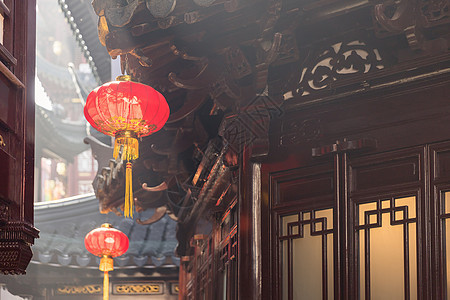豫园新春灯笼图片