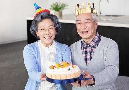 过生日的爷爷奶奶图片