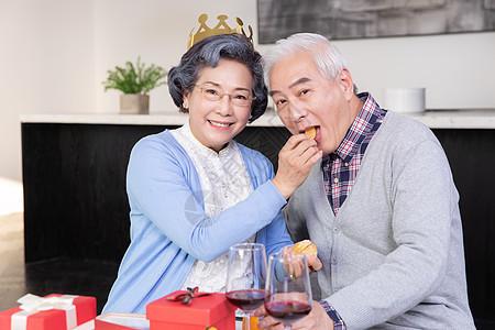 金婚夫妻过生日图片
