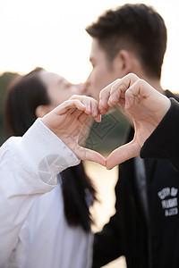 520情侣比心图片