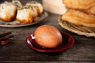 中式早餐茶叶蛋图片