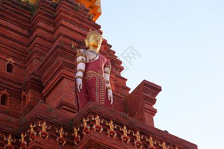 西双版纳寺庙风景图片