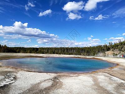 美国黄石国家公园风景图片