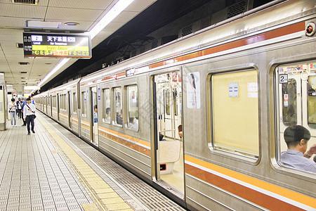 日本大阪地铁图片