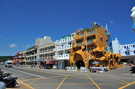 台湾垦丁街景建筑图片