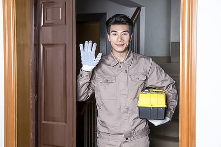 工人上门维修服务图片
