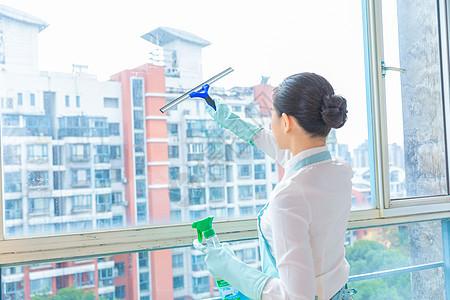 保洁服务清洁玻璃图片
