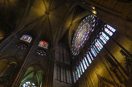 巴黎圣母院内景图片