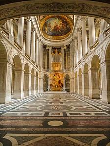 法国凡尔赛宫内景图片