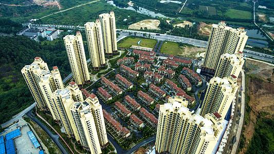 现代城市建筑背景图片