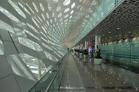 深圳宝安机场大厅图片