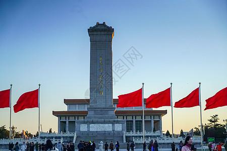 北京天安门广场人民英雄纪念碑图片