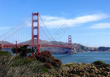 美国西部行旧金山金门大桥图片